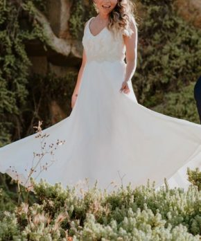 Vestido de novia en venta Silvia Moda