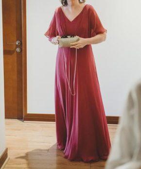 Vestido de madrina marca Trío Boutique