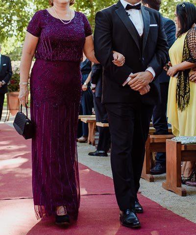 Vestido formal de madrina a la venta