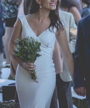 Vestido de novia hecho por Daniela Patri