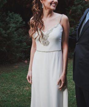 Vestido de novia Josefina Ulloa
