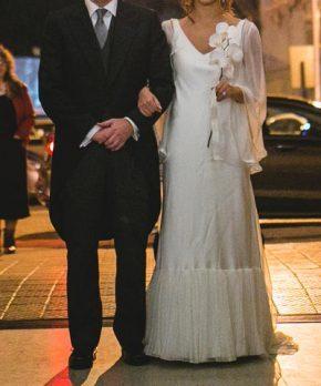 Vestido de novia Daniela Patri