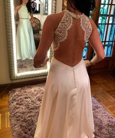 Vestido de novia Francisca Chicioada