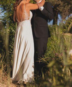 Vestido de novia Francisca Larrain