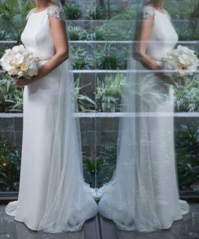 Vestido Rosa Clara de novia