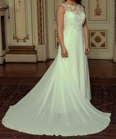 vestido oui novias se vende para matrimonio, usado una vez en chile