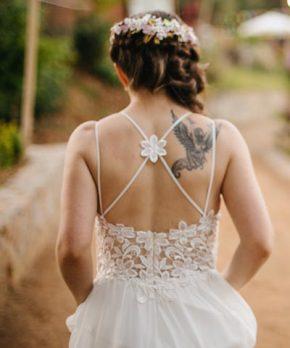 Vestido de novia Ximena Fritsch
