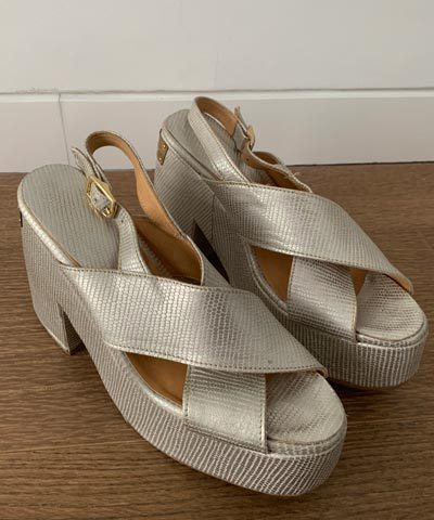 Zapatos de novia Maria Guldman