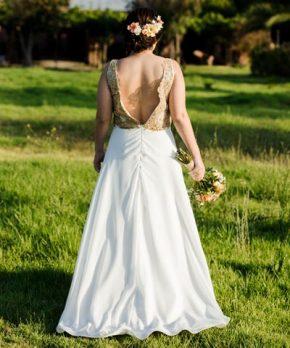 Vestido usado Silvia Moda en venta