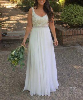 Vestido de novia María Subercaseaux
