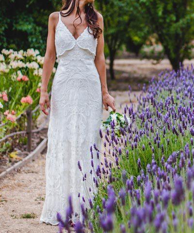 Vestido usado de novia Rue de Seine