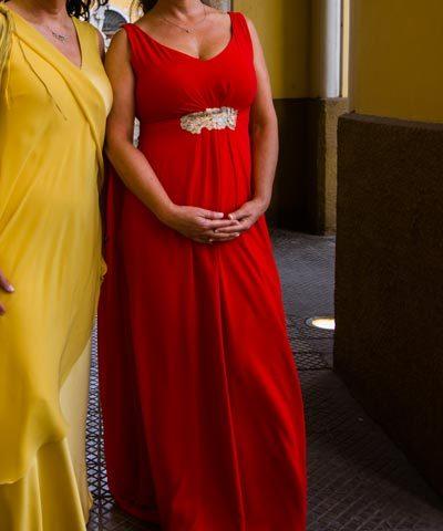 Vestido de madrina Nini Huidobro