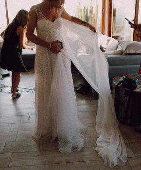 c3442863c Vestido de novia Anna Campbell en venta