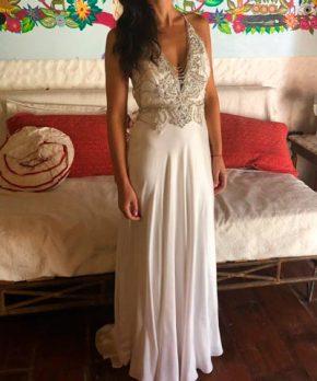 Vestido de novia Macarena Cortés