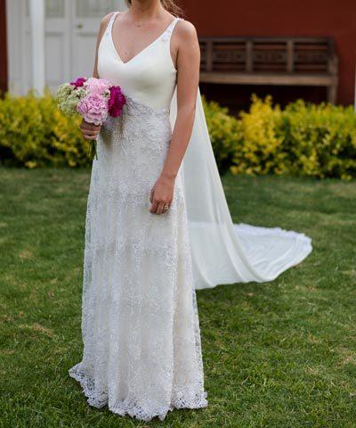 Vestido Usado Sofía Larraín