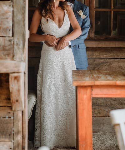 Vestido de novia Isidora de la Lastra