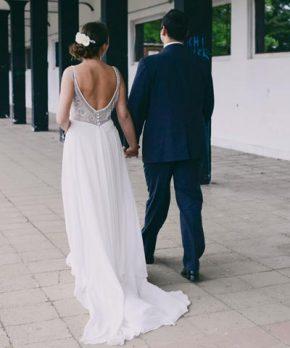 Vestido de novia Blanca Bonita