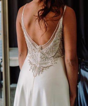 Vestido de novia hecho por Blanca Bonita