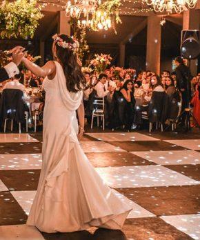 Vestido de novia Fran Larraín