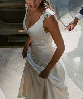 Vestido usado Fran Larraín