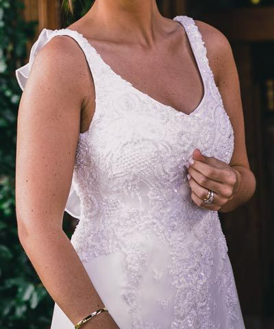 Vestido de novia Sofía Larraín