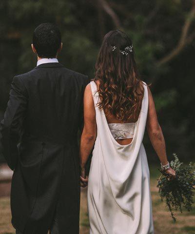 Vestido de novia Lupe Gajardo