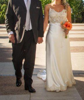 Vestido de novia Nicanor Bravo