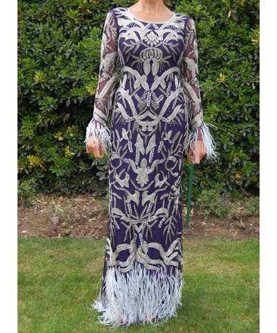 vestido-madrina-plumas